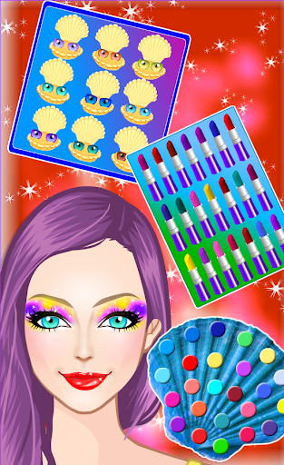 Mermaid Princess Makeup and Dress up  screenshots 3