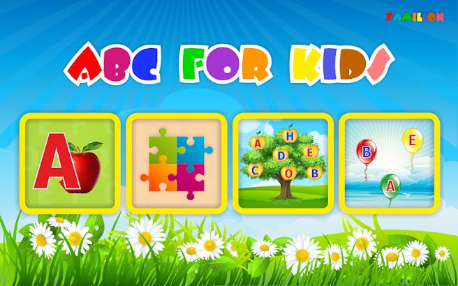 Alphabet for kids (ABC) screenshot