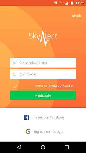 SkyAlert screenshot 1