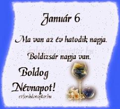Január 6 - Boldizsár névnap