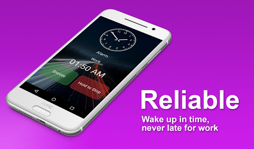 The Clock: Alarm Clock, Timer & Stopwatch Free 4.4.8 screenshots 2