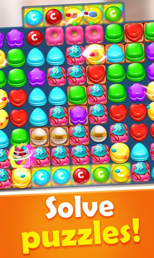 Sweet Candy Mania - Free Match 3 Puzzle Game apklade screenshots 2