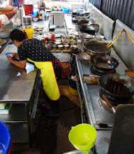 Photo: The kitchen where dinner was prepared.