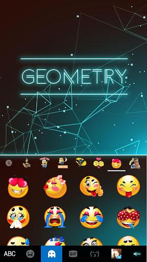 Keyboard - Geometry New Theme 2.0 screenshots 3