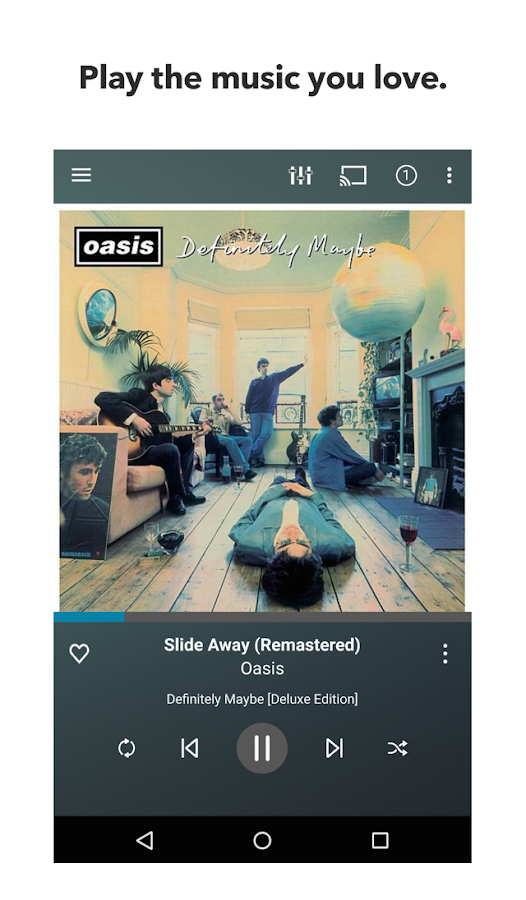Napster- screenshot