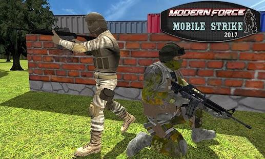 Modern Force Mobile Strike 2017 - náhled