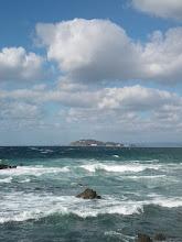 """Photo: これは""""高島""""かな?・・・今週は、ずっとシケそうです。"""