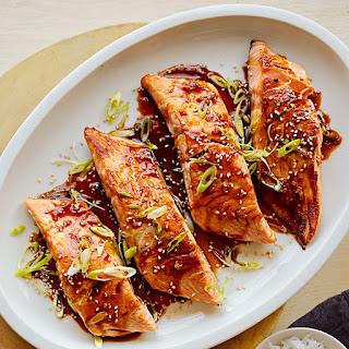 Honey Teriyaki Salmon.
