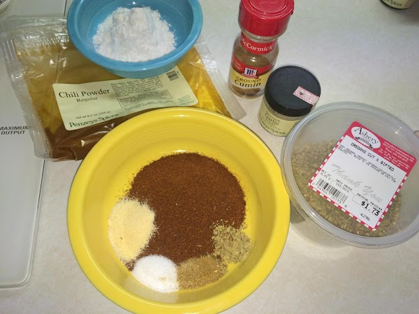 You'll want to make a good enchilada sauce and here is a recipe to...