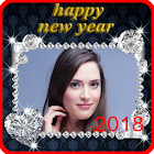 New Year Photo Frame New Year's greetings 2018 icon