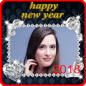 New Year Photo Frame New Year's greetings 2018