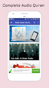 Audio Quran Abu Bakr Al Shatri - náhled