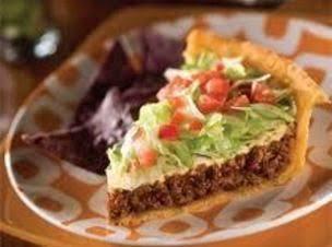 Mexi Taco Pie Recipe