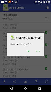 App Backup Lite- screenshot thumbnail