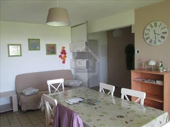 Appartement meublé 3 pièces 61,69 m2