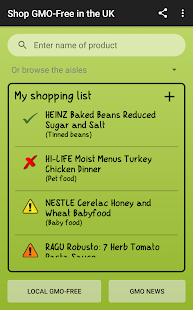 Shop GMO-Free in the UK- screenshot thumbnail