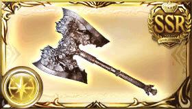 銀の依代の斧