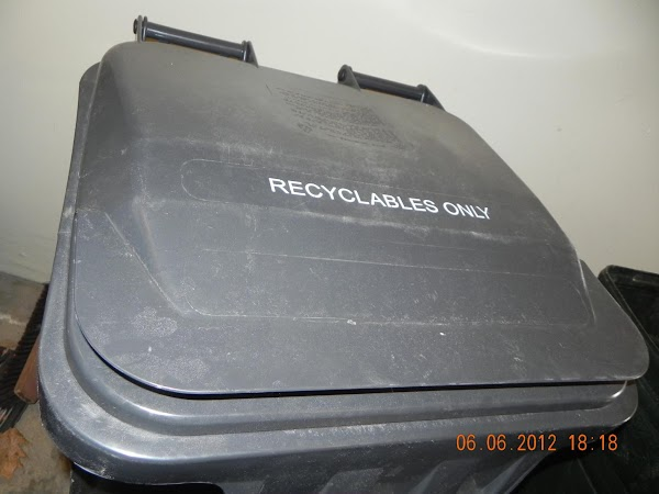 Recycle bin:A great time to share with your kids or nieces and nephews how...