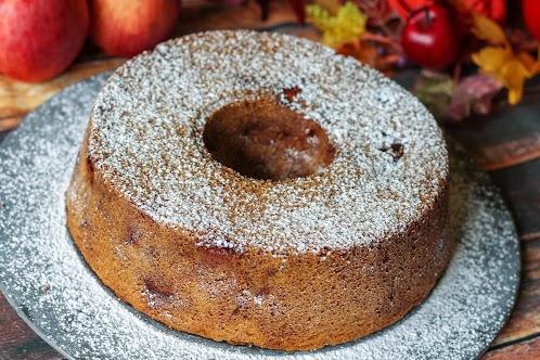 Fresh Apple Butter Cake