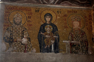 Photo: Day 114 - The Hagia Sophia, One of the Mosaics #2
