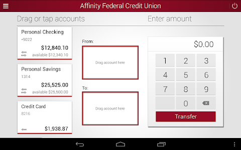 Affinity Federal Credit Union screenshot 11