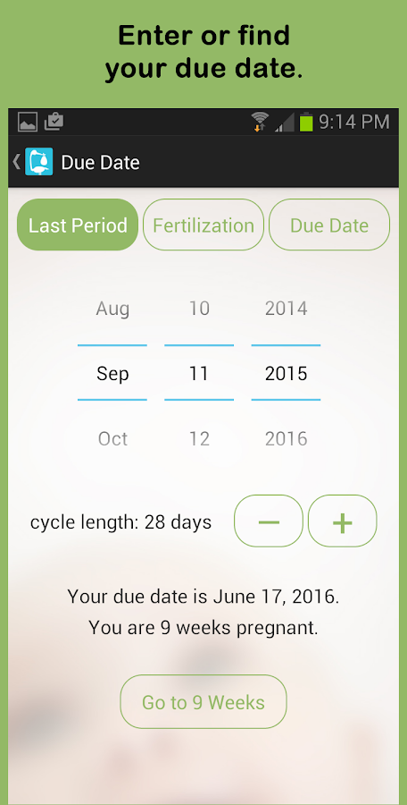 See Baby Pregnancy Guide- screenshot