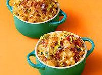 Macaroni & Cheese With Bacon And Leeks Recipe
