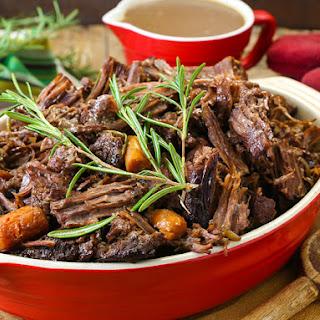 Hearty Beef Pot Roast.