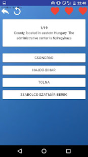Counties of Hungary - maps, tests, quiz screenshot 7