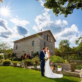 Sunny Day wedding by Robert Blair - Wedding Bride & Groom ( family photographer, wedding photography, belleville photographer, belleville wedding photographer, weddings, image plus photography )