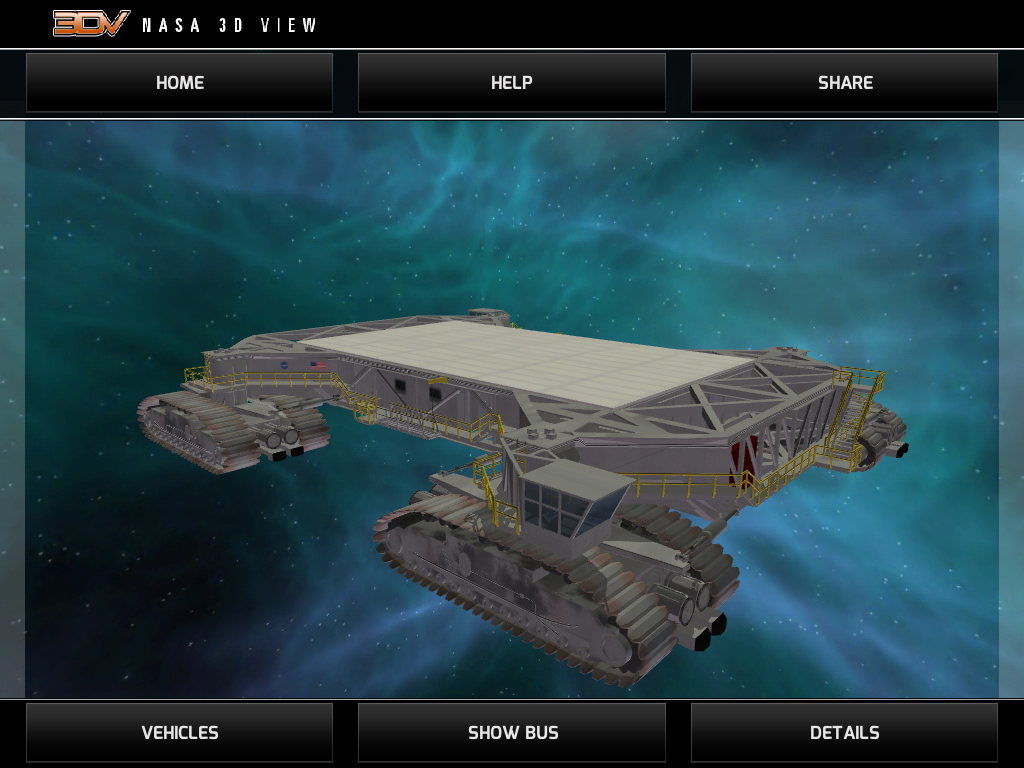 NASA 3DV: screenshot