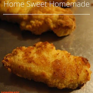 Homemade Frozen Chicken Nuggets