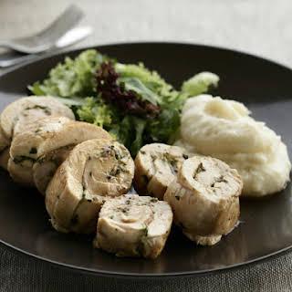 Sage And Prosciutto Stuffed Chicken Breast.