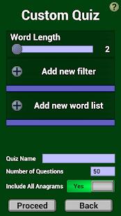 Anagram Quizzer - náhled