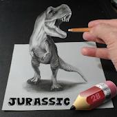 Sketch Jurassic Dinosaur World