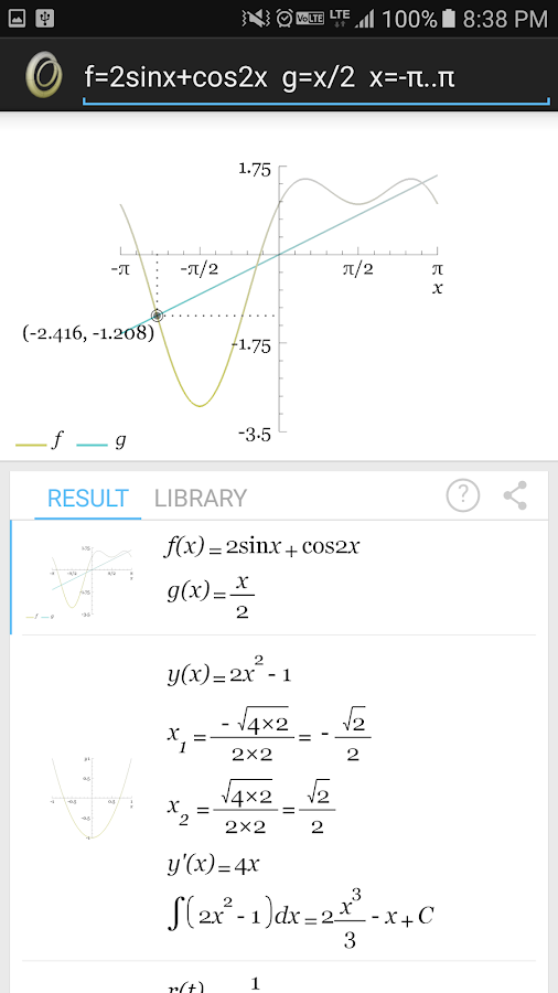 Graphing Calculator & Math Pro- screenshot
