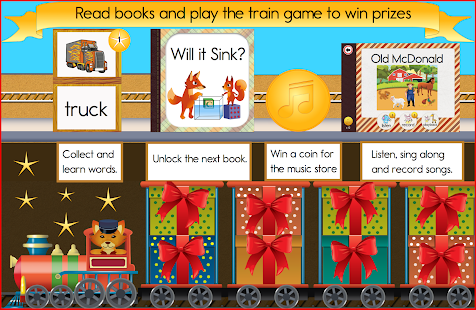 Reading Train Learn To Read- screenshot thumbnail
