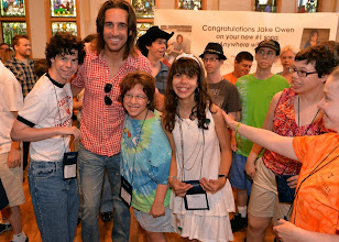 Photo: NASHVILLE, TN - JUNE 26:  Singer/Songwriter Jake Owen spends time with campers during the ACM Lifting Lives Music Camp - Recording Session with Jake Owen on June 26, 2013 in Nashville, Tennessee.  (Photo by Rick Diamond/Getty Images for ACM)