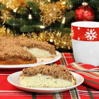 Moist Cinnamon And Spice Crumb Cake.