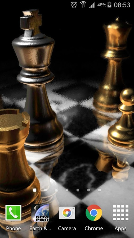 3d Parallax Weather Live Wallpaper Chess Gyro 3d Parallax Live Wallpaper Xlversion Android