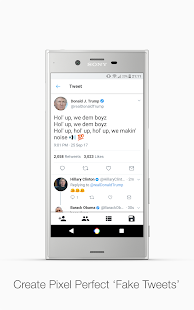 Fake Tweets- screenshot thumbnail