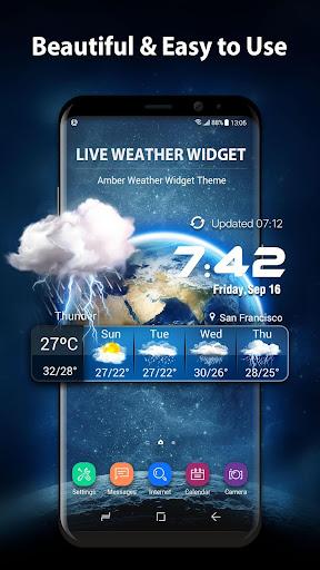 Download 3D Live Weather Alert Widget on PC & Mac with