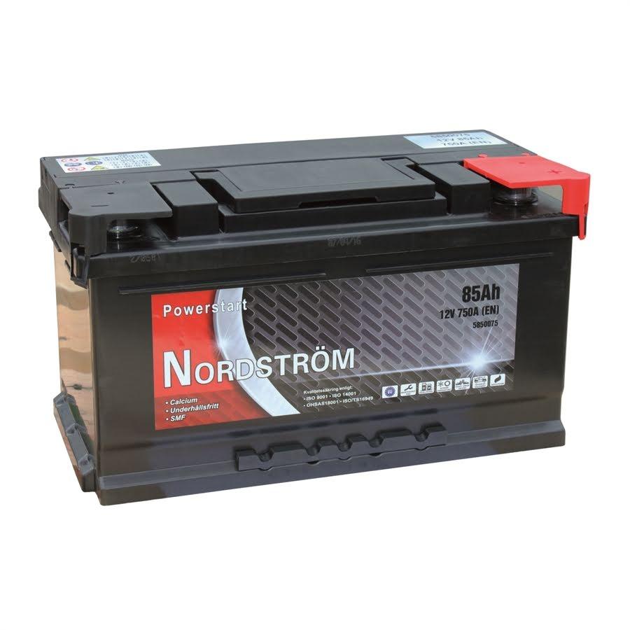 85 Ah Startbatteri Nordström