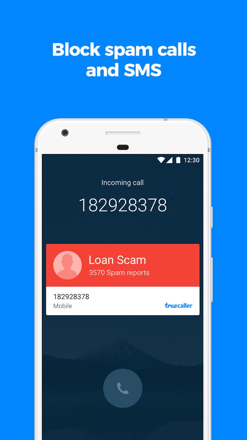 Truecaller: Caller ID, SMS spam blocking & Dialer Screenshot 1