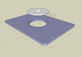 Router table insert rings router image oakwoodclub yet another router table 3 making the plate keyboard keysfo Gallery