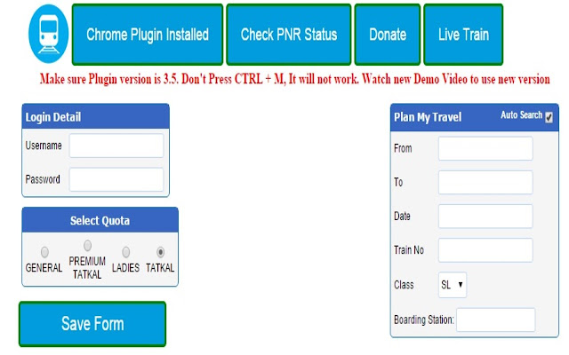 irctc fast ticket booking software free download