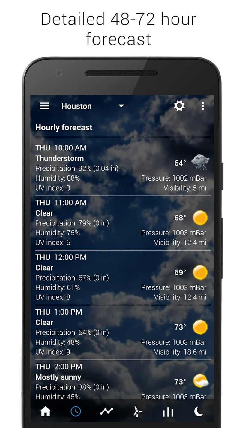 Sense V2 Flip Clock & Weather Screenshot 6