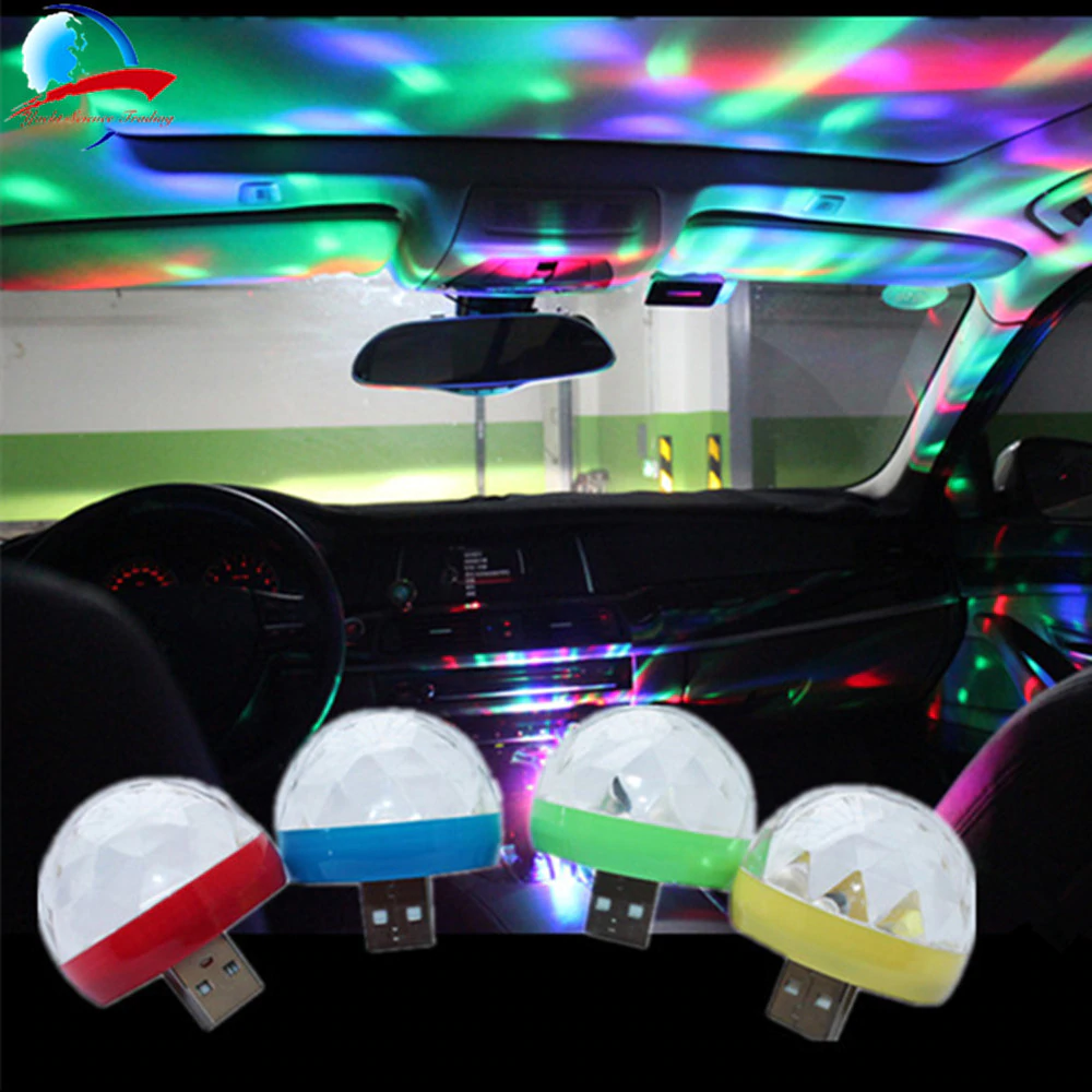 Portable LED Disco Stage Light