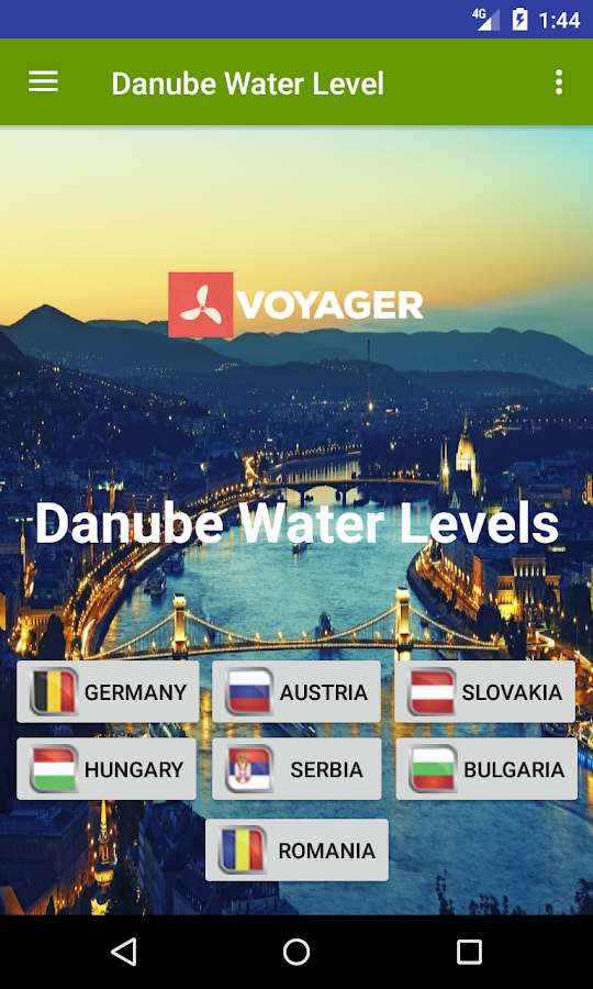 Danube Water Level- screenshot