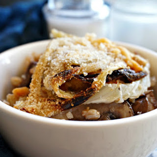 Roasted Fennel with Farro, Mushrooms, and Beans Recipe
